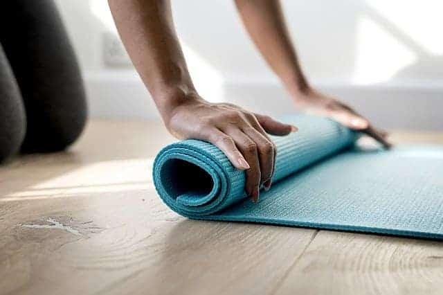 Matten, Fitnessübungen