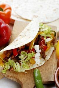 gesunde Tortillas, Diät-Kebab
