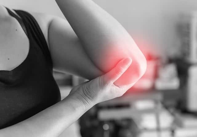 Schmerzen im Ellenbogengelenk