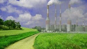 Fabriken, schädlicher Rauch