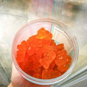 jelly bear hair Quallen