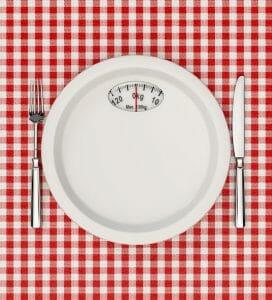 Gewicht und Platte