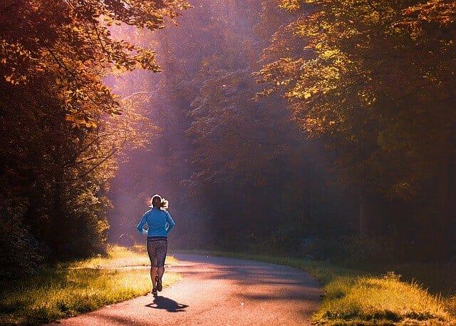 Laufen, Laufen im Park