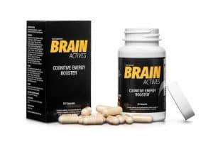 Nahrungsergänzungsmittel zur Unterstützung des Gehirns Brain Actives