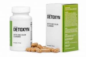 Detoxyn Tabletten zur Reinigung des Körpers von Giftstoffen